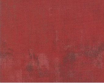 Bolt End - Grunge Basics Romance Red 30150-74 by BasicGrey for Moda 100% Cotton Quilting Fabric Yardage