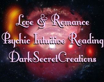 Love & Romance Intuitive Psychic Reading Detailed Via Text Or Email All Will Also Recieve PDF Fast Response