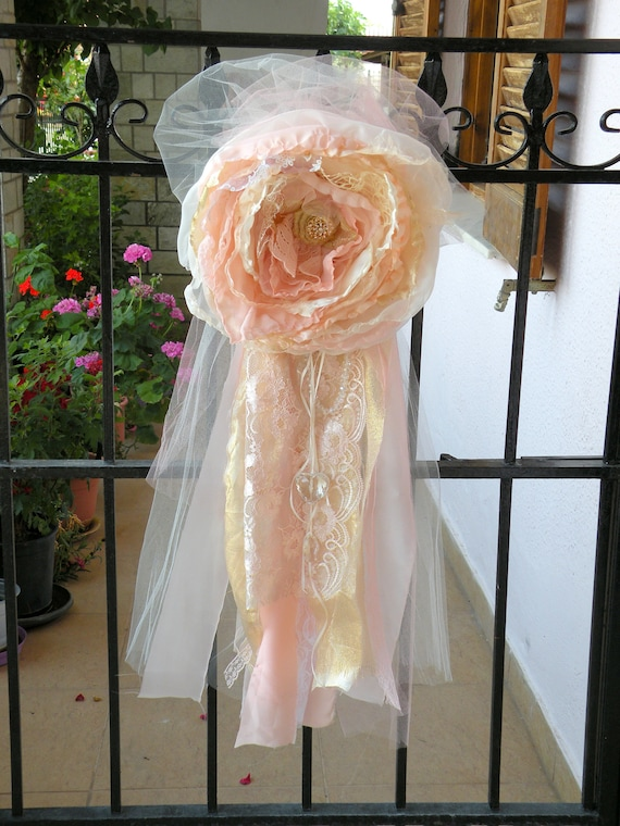 Fantastic Blush Pink Rose Gold Ivory Chair Sashes Wedding Chair Covers Wedding Flower Decoration Wedding Shower Custom Chair Covers Baby Shower Alphanode Cool Chair Designs And Ideas Alphanodeonline