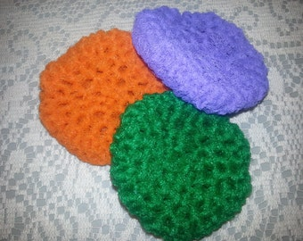 Crocheted Pot Scrubbies (set of 3)