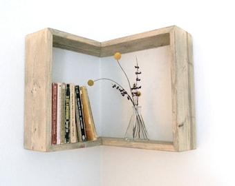 Corner Box Shelf