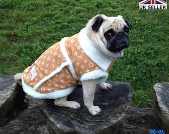 4cbf8e054 Luxury Faux fur Unisex Winter Jacket Coat Pet Dog Clothes