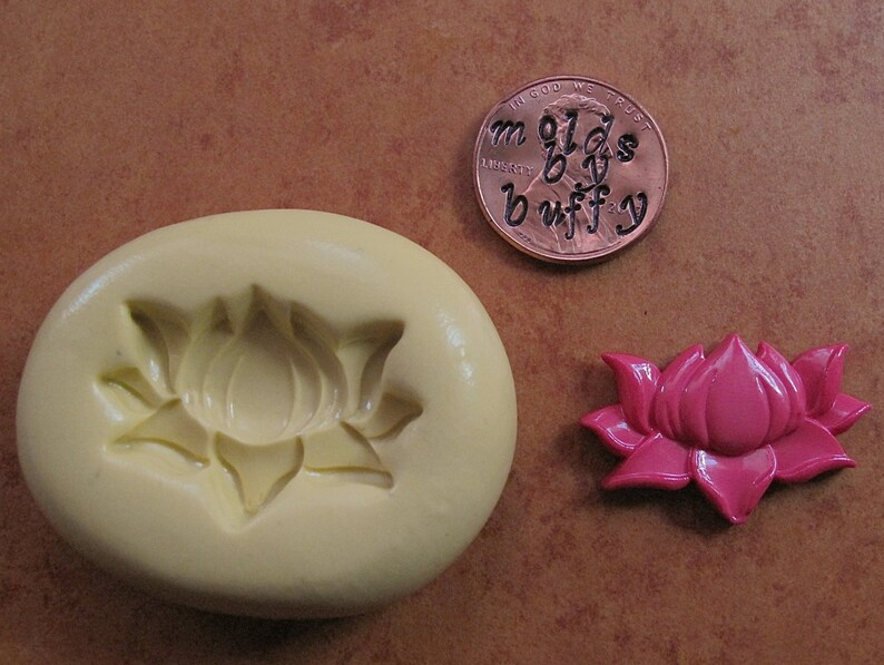 Open Lotus Flower Mold Silicone Mold Flexible Mold Resin Etsy