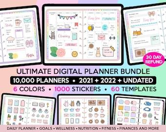 Digital Planner 2021 2022 Digital Planner Undated Digital Planner Goodnotes Planner Digital Planner iPad Planner Goodnote