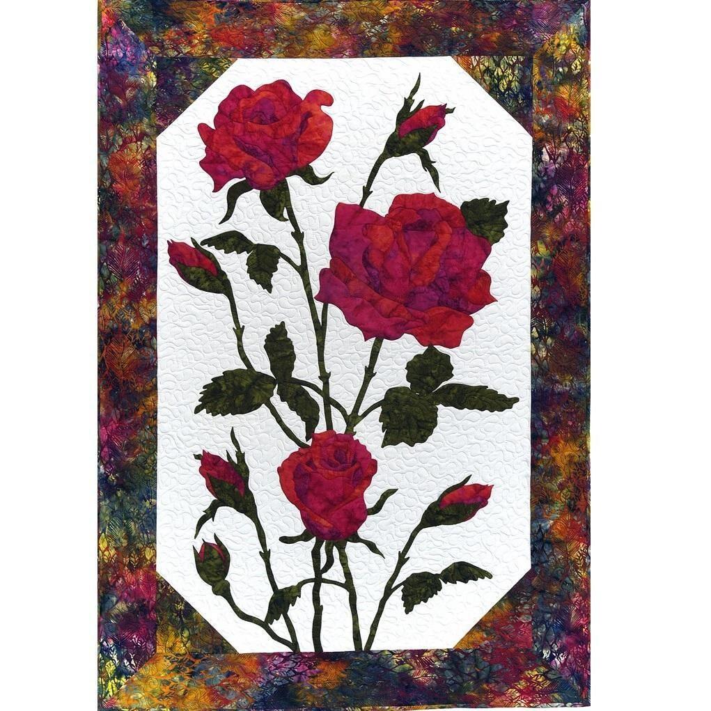Cleo Dessins Fleur Rose Rouge Laser Laser Rouge Pre Coupes Pre
