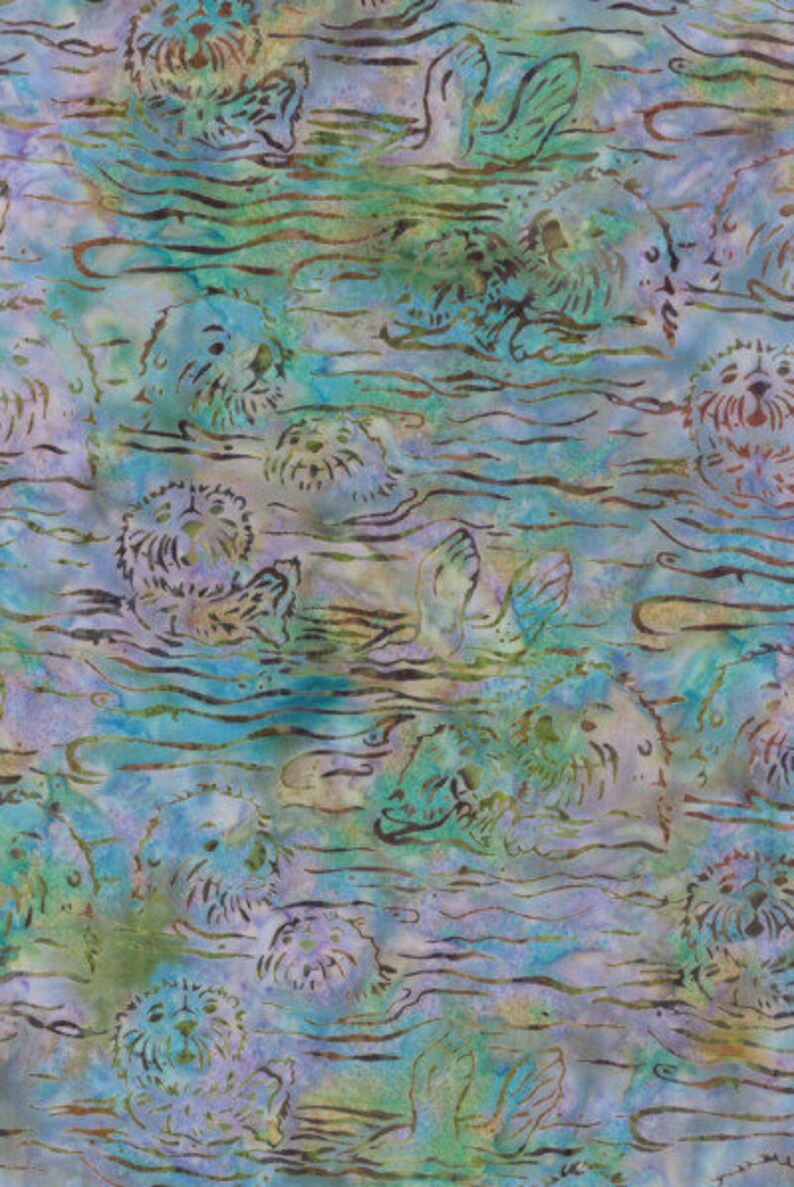 Hoffman Gray Whale Batik H2282 Lapis COTTON BTY