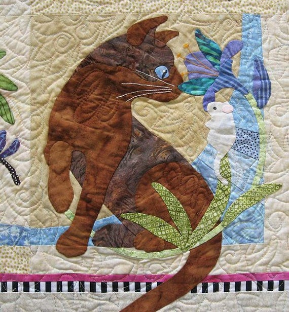 FOREST GALOREST BOM APPLIQUE QUILT QUILTING PATTERN From Java House Quilts NEW
