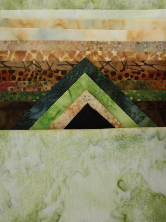 Tortuga Sea Turtle Toni Whitney Applique Quilt Pattern Fabric Kit