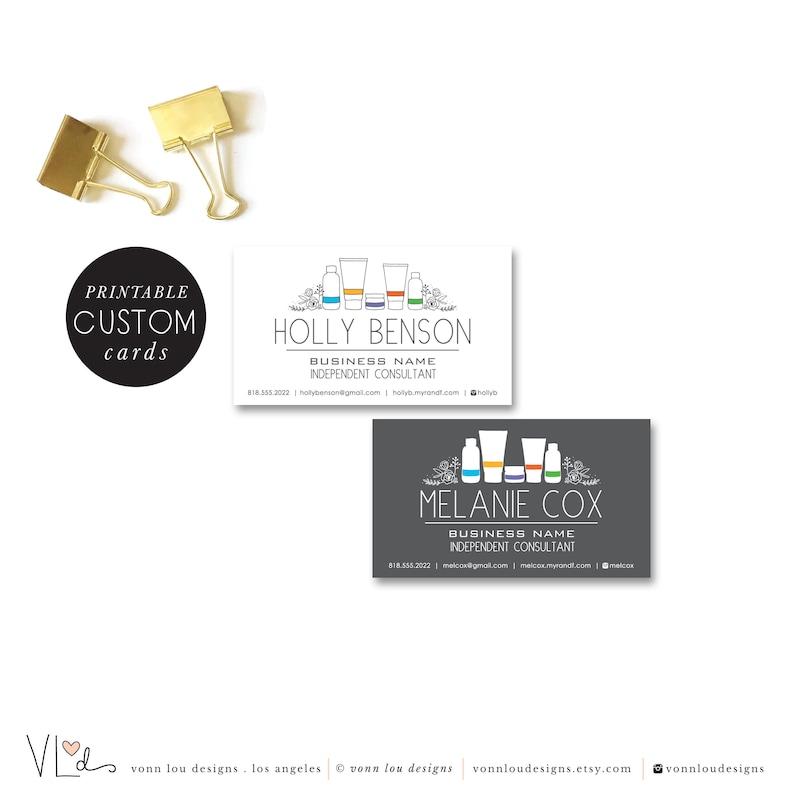 Imprimable Cartes De Visite Soin Peau Dappel
