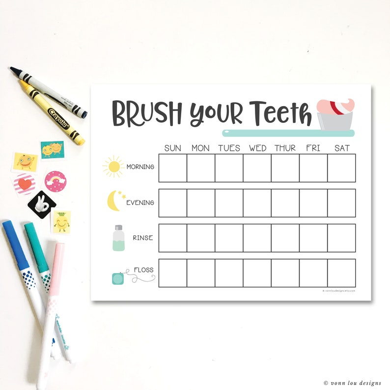 image relating to Printable Tooth Brushing Charts titled brush chart - enamel brushing chart - mattress period chart - hand illustrated - newborn charts - exercising charts - printable down load - Do it yourself- innovative