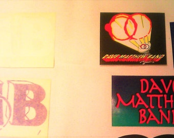 Dave Matthews Band DMB 'Before These Crowded Streets' STICKERs DECALs