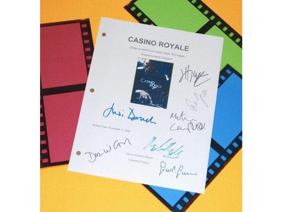 Casino royale original script billionaire 2 game cheats