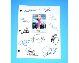 Legally Blonde Movie Signed Script Screenplay Autographed: Reese Witherspoon, Luke Wilson, Selma Blair, Victor Garber, Jennifer Coolidge