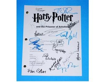 Harry Potter and The Prisoner of Azkaban Signed Script Rpt Daniel Radcliffe