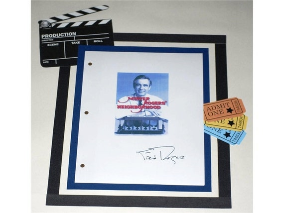 Mister Mr Rogers Neighborhood Script Season 20 Episode 3 Etsy