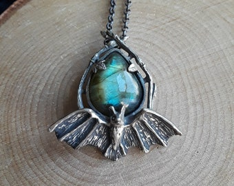 Bat no. 9 & Labradorite