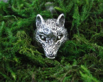 The Wolf Ring - Made to order in your size!