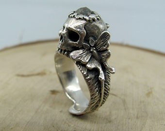 The Persephone Ring with Rose Cut Diamond Round - Made to order in your size!