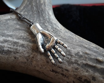 Sacred Hand Necklace - ready to ship!