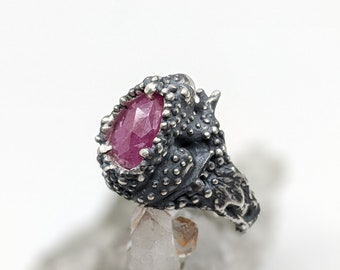 The Toad Queen ring size 7.5 - ready to ship