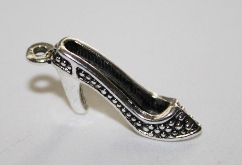 #037 High Heels High Heel Shoe Charm Shoes 20ct 22x10mm High Heels Charm Shoe Charms
