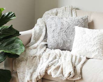 Popular Items For Faux Fur Pillow