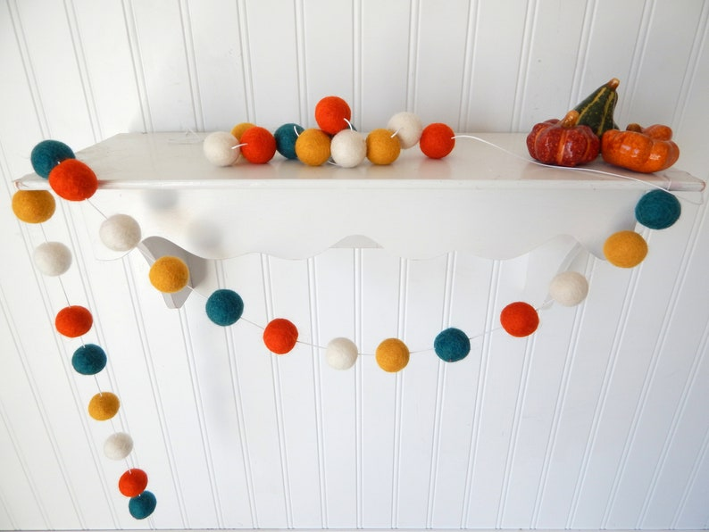 Autumn Garland Fall Garland Fall Decoration Thanksgiving image 0