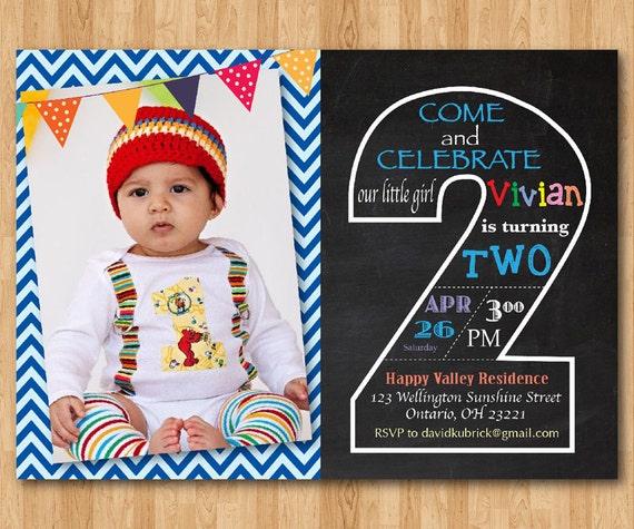 2nd Birthday Invite Image 4