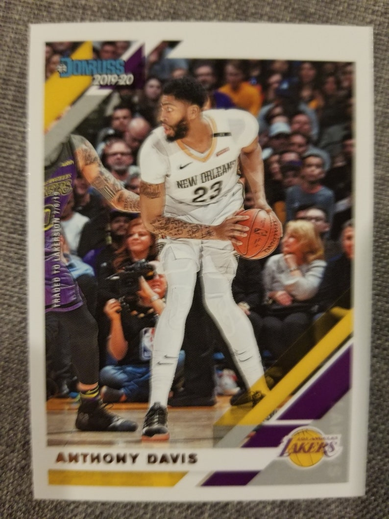 birthday card with a detachable trading card of kobe