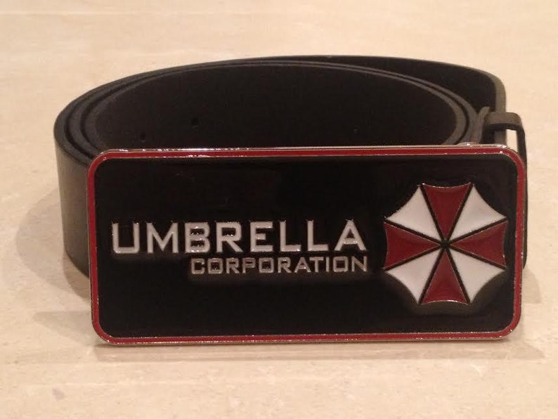 Zombie Outbreak Response Team Belt Buckle Unique cosplay collectible US seller