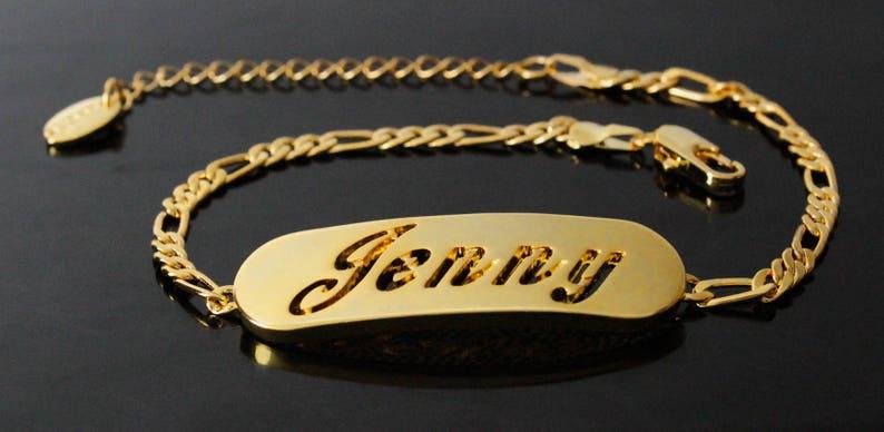 3043b1ae46264 Name Bracelet JENNY- Personalised Bracelet. 10