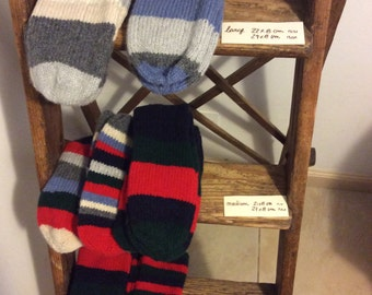 Relax socks knitted in wool mix