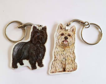 Cairn Terrier Keyring
