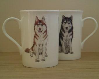 Husky Retro Kühlschrank : Siberian husky etsy