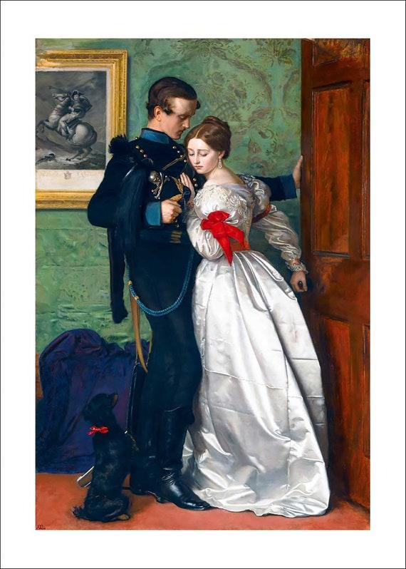 Millais The Black Brunswicker fine art print poster various sizes