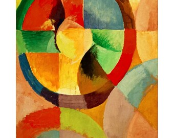 Delaunay - Circular Shapes beautiful fine art print in choice of sizes