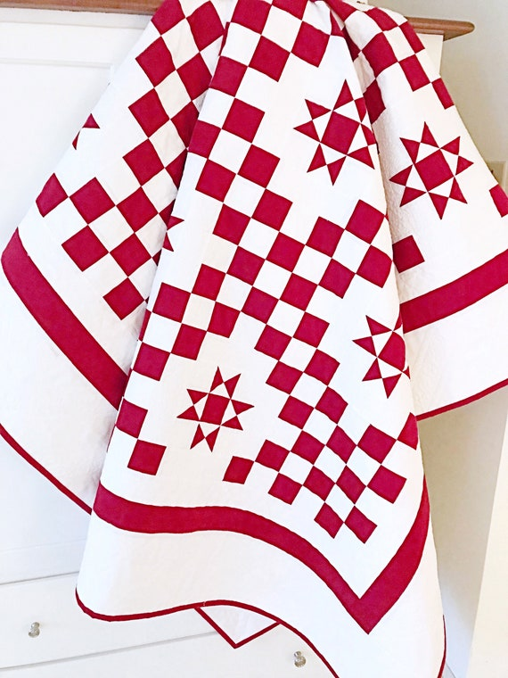 Red And White Quilt Patterns Pdf Christmas Quilt Patterns