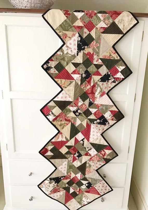 Christmas Runner Quilt Pattern.Quilt Patterns Pdf Table Runner Star Quilt Pattern Christmas Quilt Pattern Scrappy Quilt Patterns