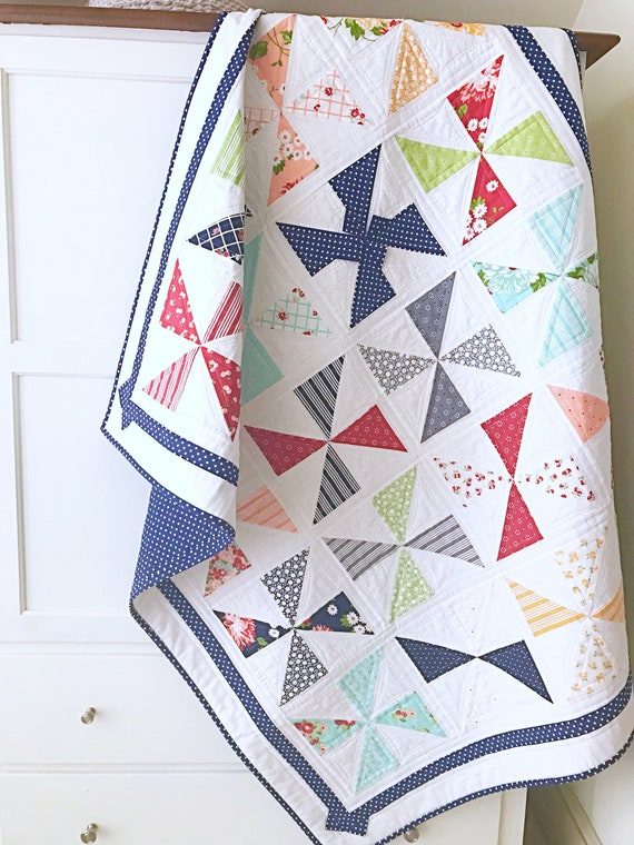 Baby Quilt Patterns Pdf Christmas Quilt Patterns Modern Quilt Etsy