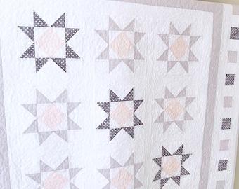 Baby Quilt Patterns PDF Star Quilt Patterns Modern Quilt Pattern Farmhouse Quilt Pattern Easy Quilt Patterns
