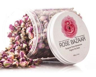 Bulgarian Organic Rosa Damascena Buds 5 oz/ 150 g