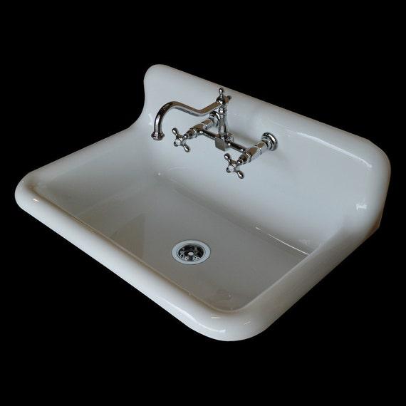 36 X 24 Exclusive Farmhouse Sink Faucet Drain Etsy
