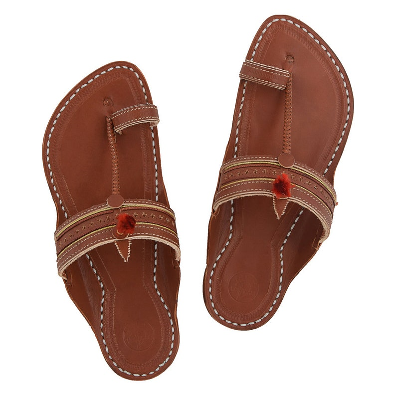 KOLHAPURI CHAPPAL Original Breathtaking Cherry red kapshi red gonda for Men Slipper Sandal