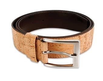 Cork Men Belt - FREE SHIPPING WORLDWIDE