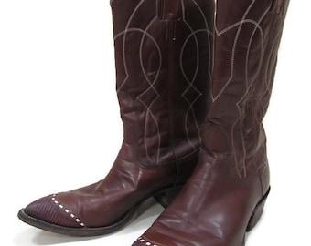 e2c8b7974a4 Nocona Cowboy Boots US Men s Size 10 D  Cowboy Boots