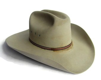 d311ad1c Bailey Cowboy Hat, 6 7/8 Long Oval; Bailey Hat, Cowboy Hat, Western Hat, Vintage  Cowboy Hat, Vintage Western Hat