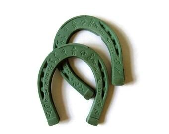 Horseshoes; Horseshoe Game, Toy Horseshoes, Game Parts, Game Room Decor, Horseshoe Crafts, Cowboy Decor, Horseshoe Decor, Ranch Decor