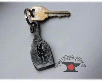 Code Like A Girl Pendant, Keychain Fob, Zipper Pull