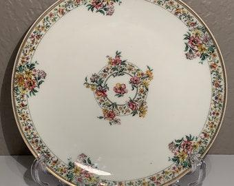 Cabinet Plate Limoges France Pink Roses /& Gold Gildt Dish Antique Vintage Collectible Gift Pierce Porcelain China Plate Martial Rendon