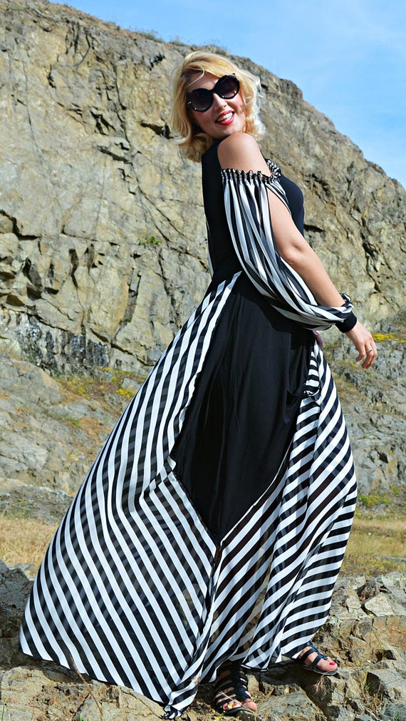 Wedding Dress , Summer Dress, Chiffon Dress, Maxi Dress TDK265, Caftan by Teyxo, Little Black Dress